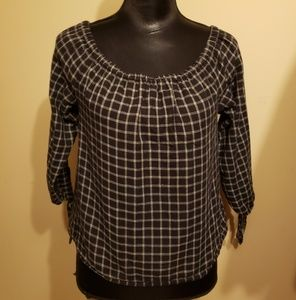 Madewell Peasant Style Blouse size XS